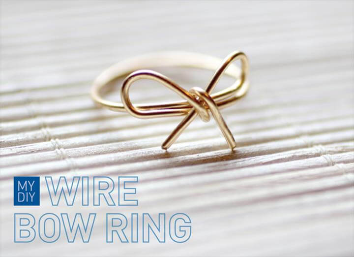 diy ring, wire ring