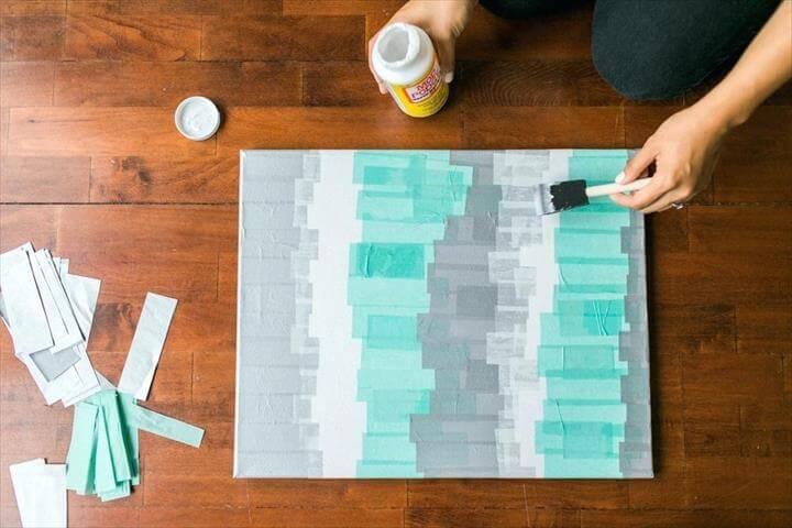 Tissue Paper Wall Art Diy Room Decor Quotes
