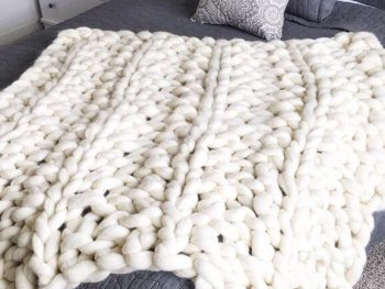 Arm Knit Blanket Patterns