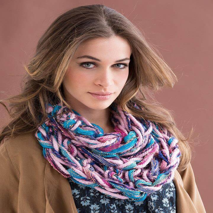 Arm-Knit Chic Cowl