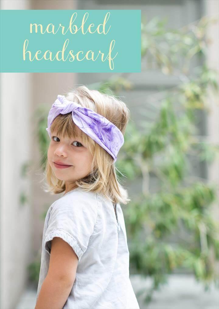 Marbled Headscarf