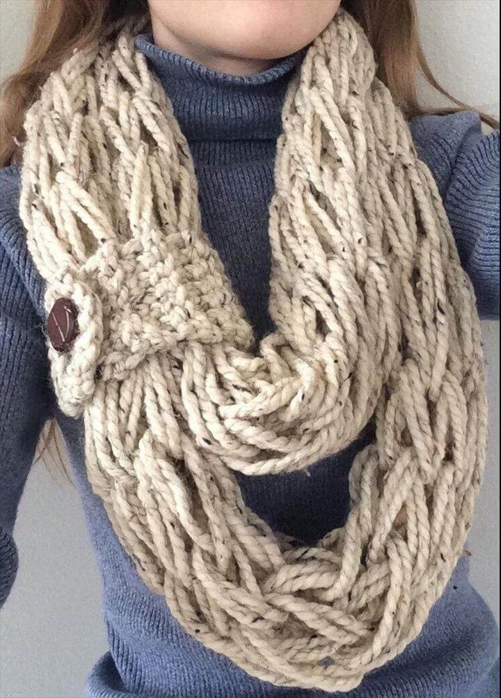 Arm Knit: Step-by-Step Instructions