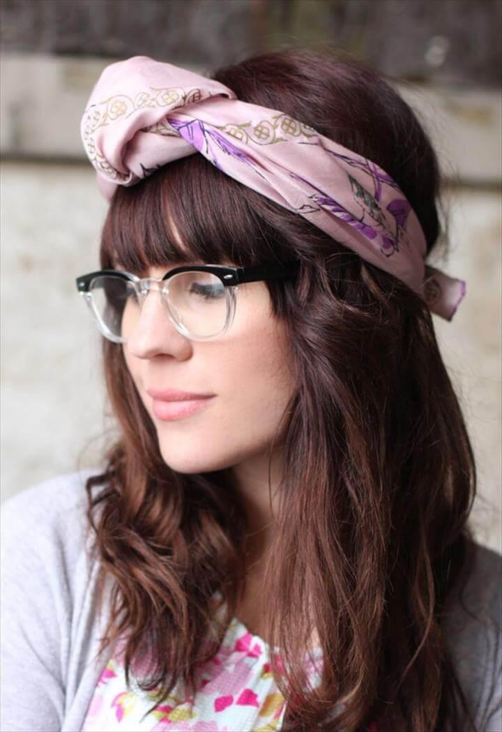 Chic Ways To Wear Head Scarf This Summer
