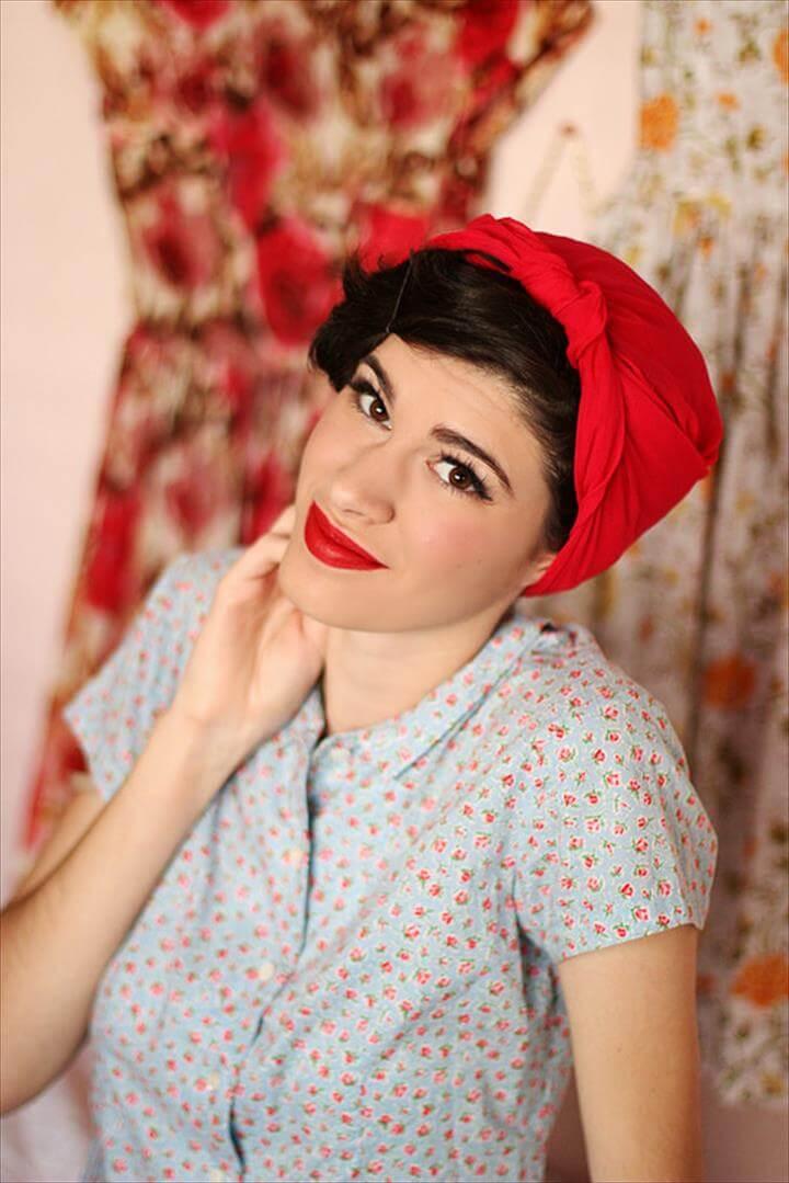 Headscarf Tutorial.