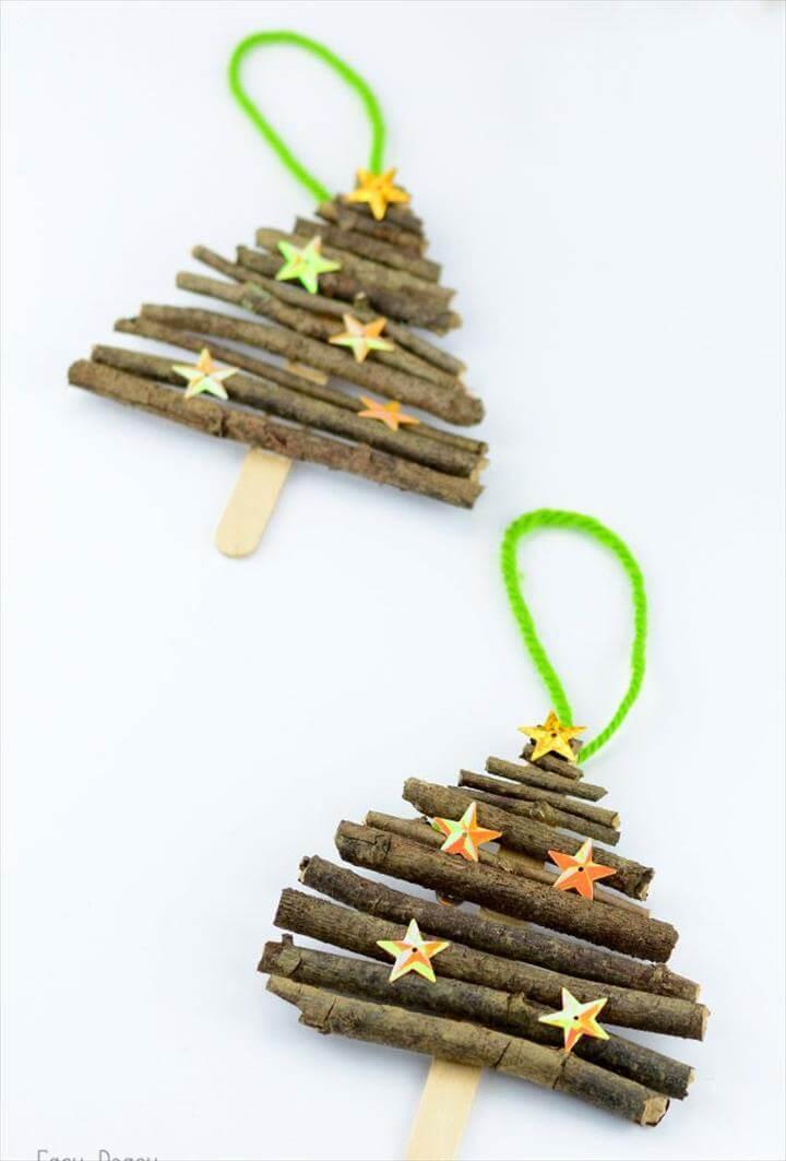 Homemade DIY Christmas Ornament Craft Ideas - How To Make Holiday Ornaments