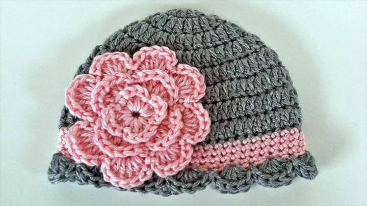 Baby Beanie Crochet