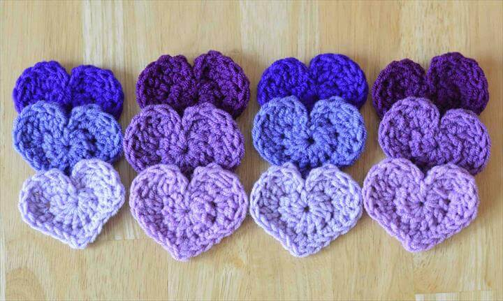 The Easiest Crochet Heart Pattern