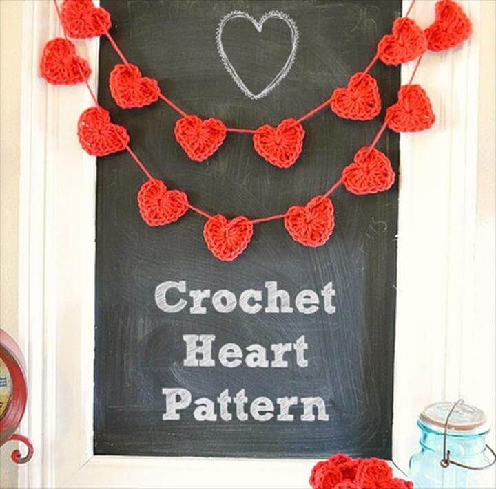 Valentine ideas- Crochet HeartPattern
