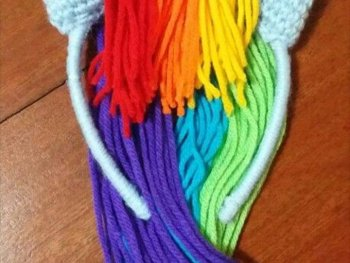 My Little Pony Rainbow Dash Costume Sewing Tutorial
