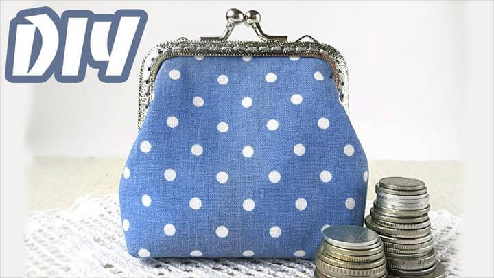 DIY Clasp Coin Purse Tutorial