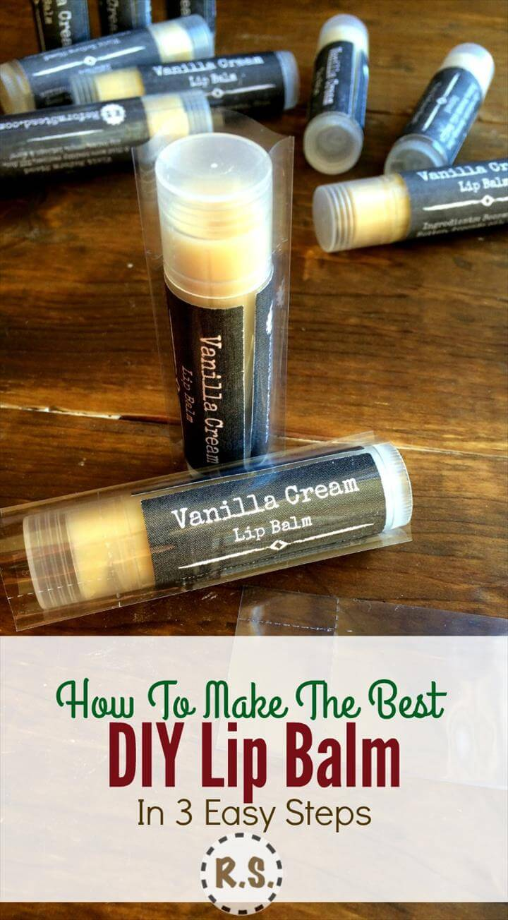 DIY Lip Balm Recipe