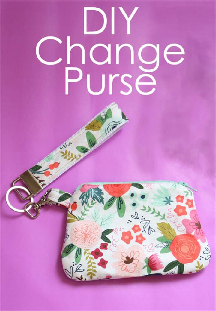 DIY Change Purse - Make this Simplicity Change Purse using your Cricut Maker! The Cricut