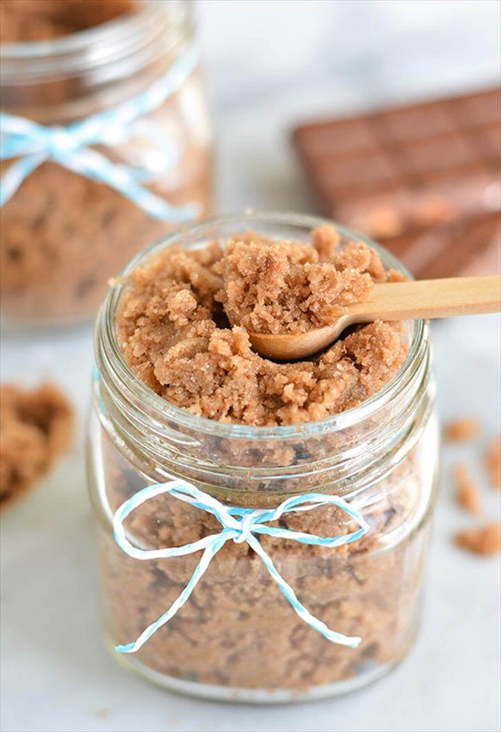 DIY Chocolate Scrub Recipe