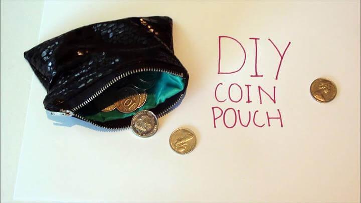 DIY: Coin Pouch