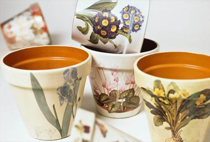 Crafts - Painted Flower Pots