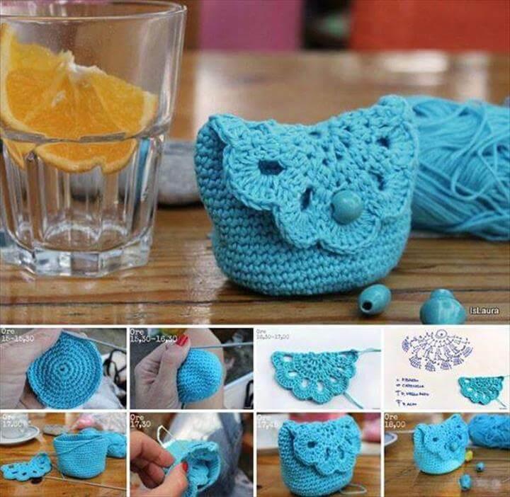 DIY Crochet Coin Purse