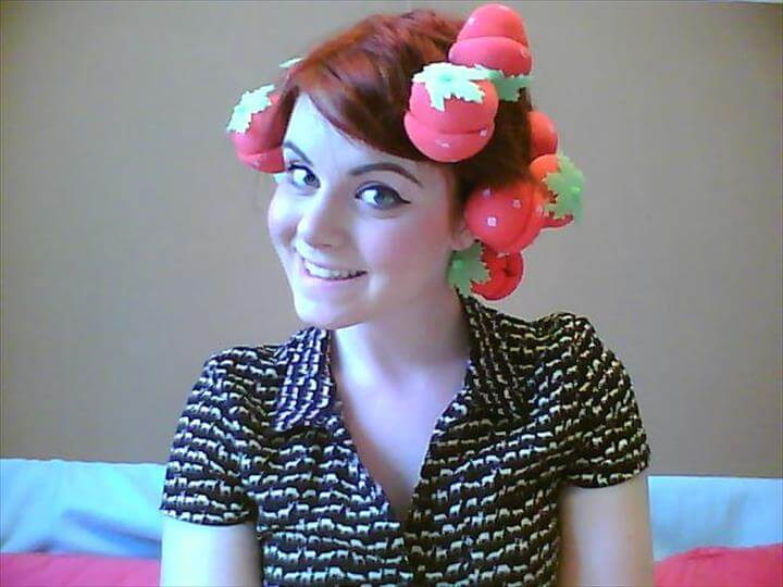 Strawberry Curlers