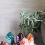 DIY Gemstones Soap