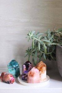 DIY Gemstones Soap