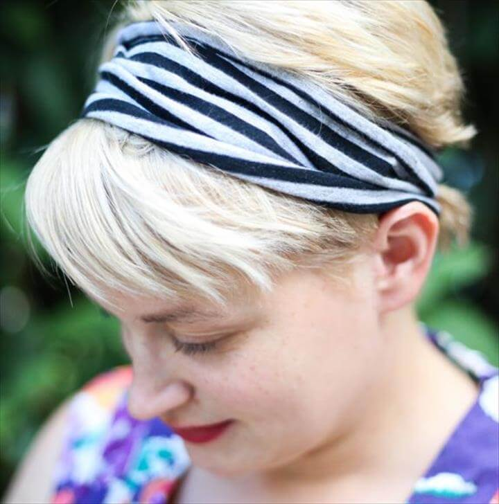 Headband with an Infinity Scarf