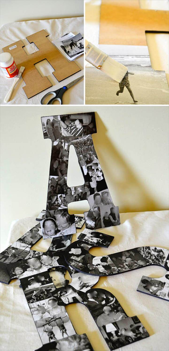 Handmade Gifts using photos - These gifts ideas are perfect for Christmas gifts,