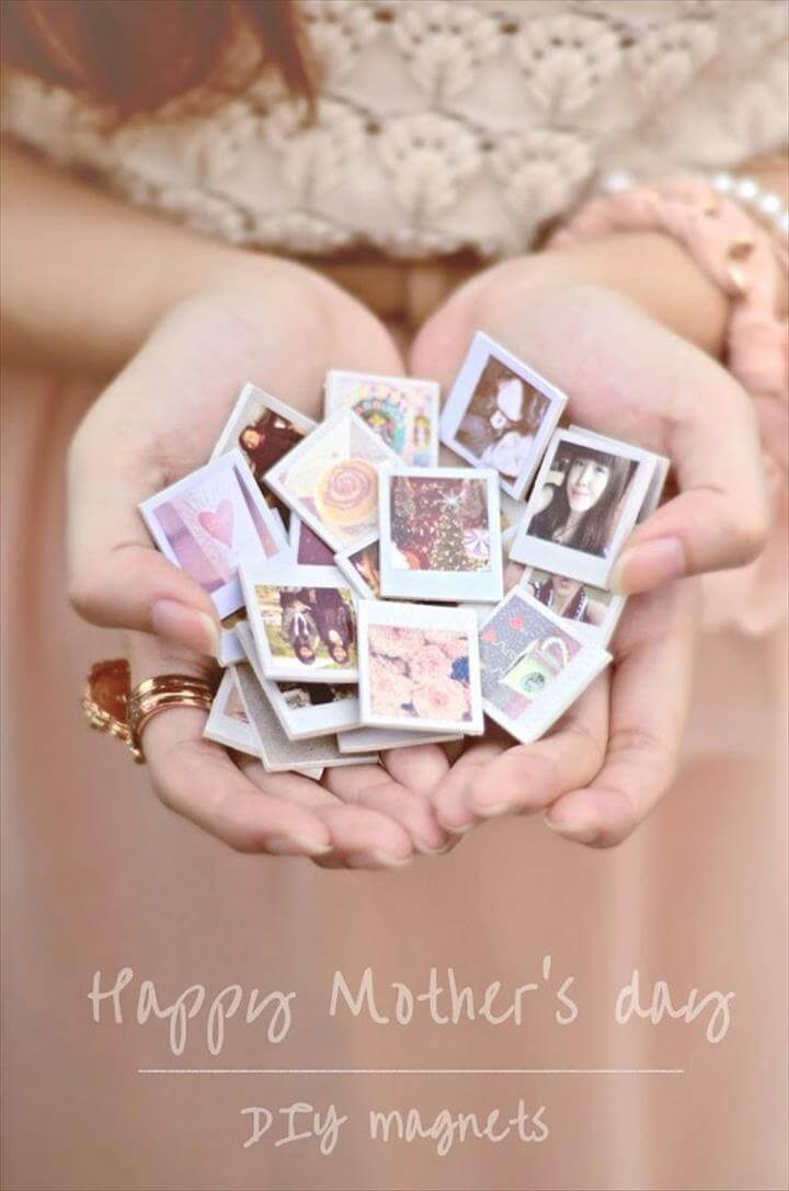 Simple Personalized DIY Crafts for Mother's Day