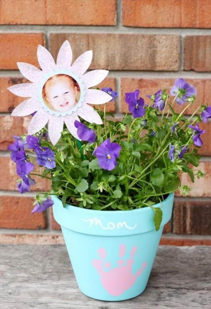 Mother's Day Keepsake Flower Pot
