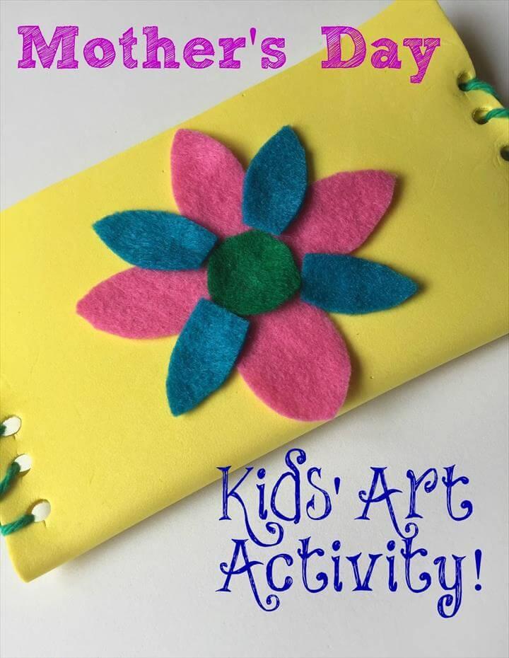 Mother's Day Crafts for Kids: DIY Wallet