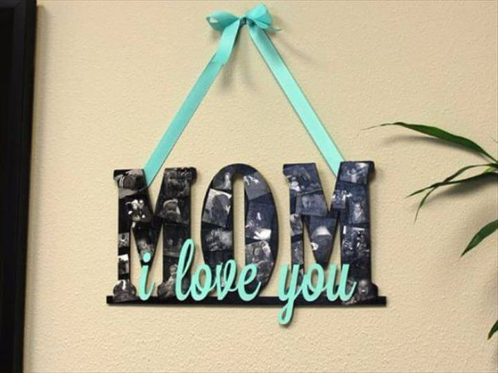 Mother's Day Collage Sign