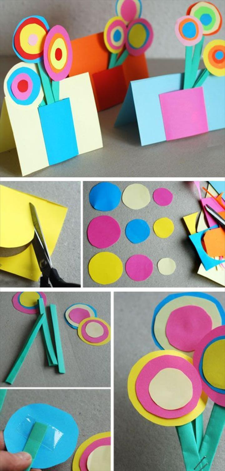 Awesome DIY Mothers Day Crafts For Kids To Make