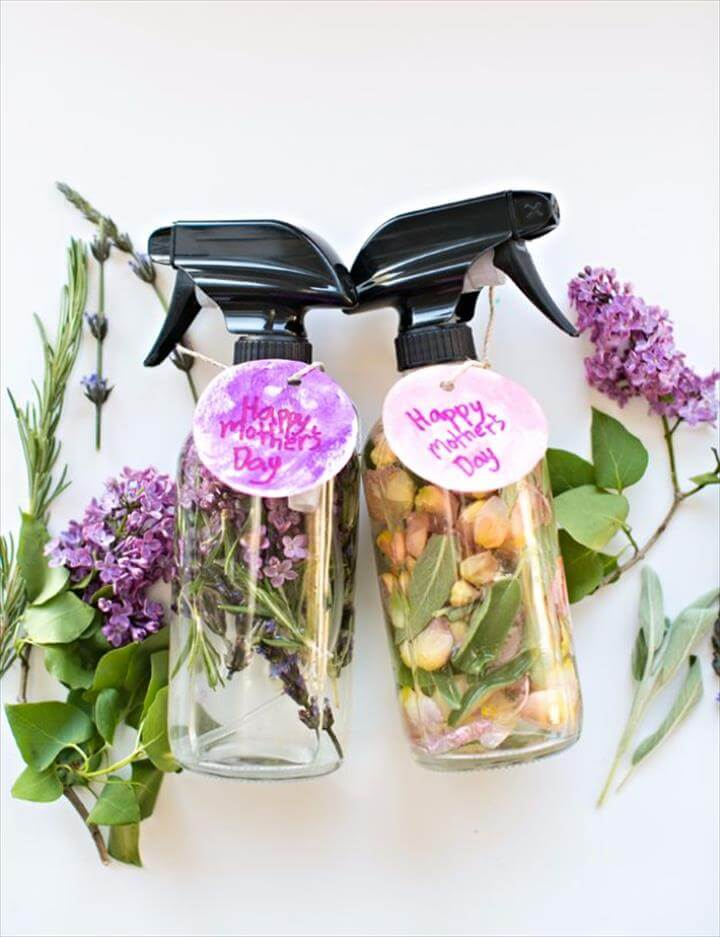 DIY Mother's Day Floral Herb Perfume