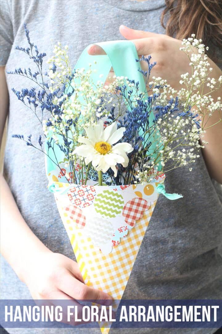 Mother's Day Hanging Floral Arrangement