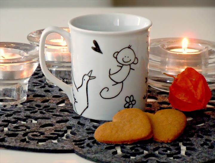 Handmade gift ideas: the DIY custom mug