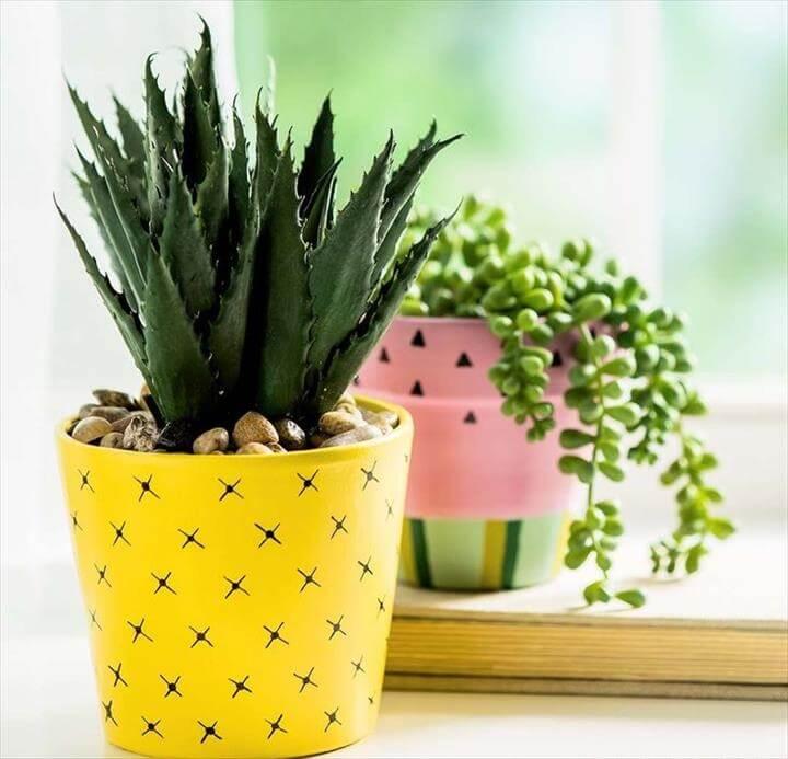 pineapple planter DIY