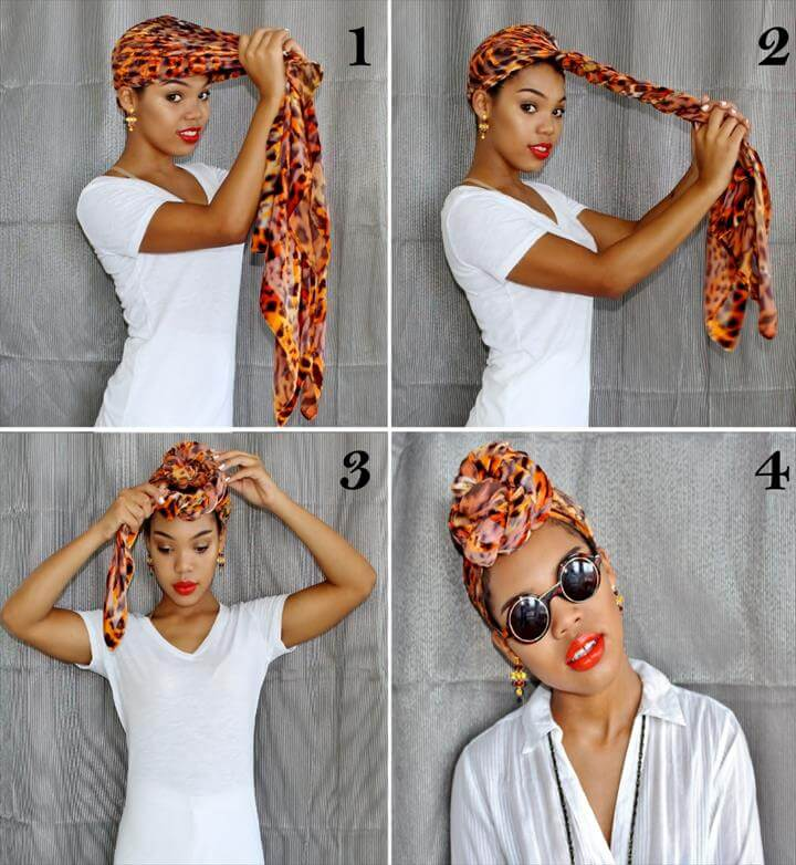 A step by step guide on how to tie a turban.