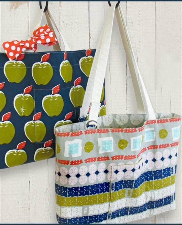 Handmade gift idea, DIY Tote Bags