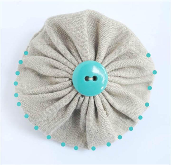DIY yo-yo coin purse