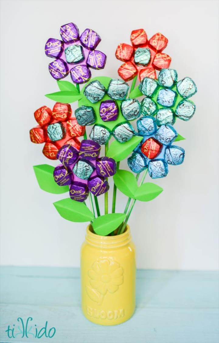 Delicious Dark Chocolate Mother's Day Bouquet