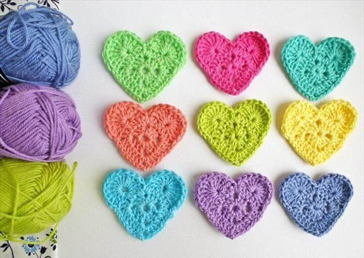 Crafts · DIY: crochet heart