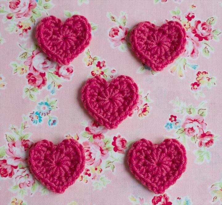 crochet heart pattern ellesheart loves ~ crochet hearts ~ pink milk: crochet patterns and UDIZMBE