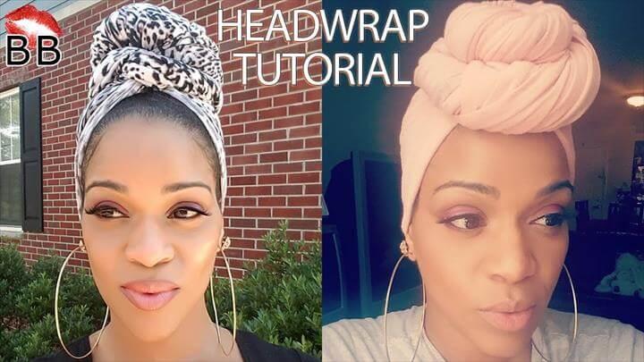 Easy DIY Headwrap Tutorial Using T-Shirts and Leggings