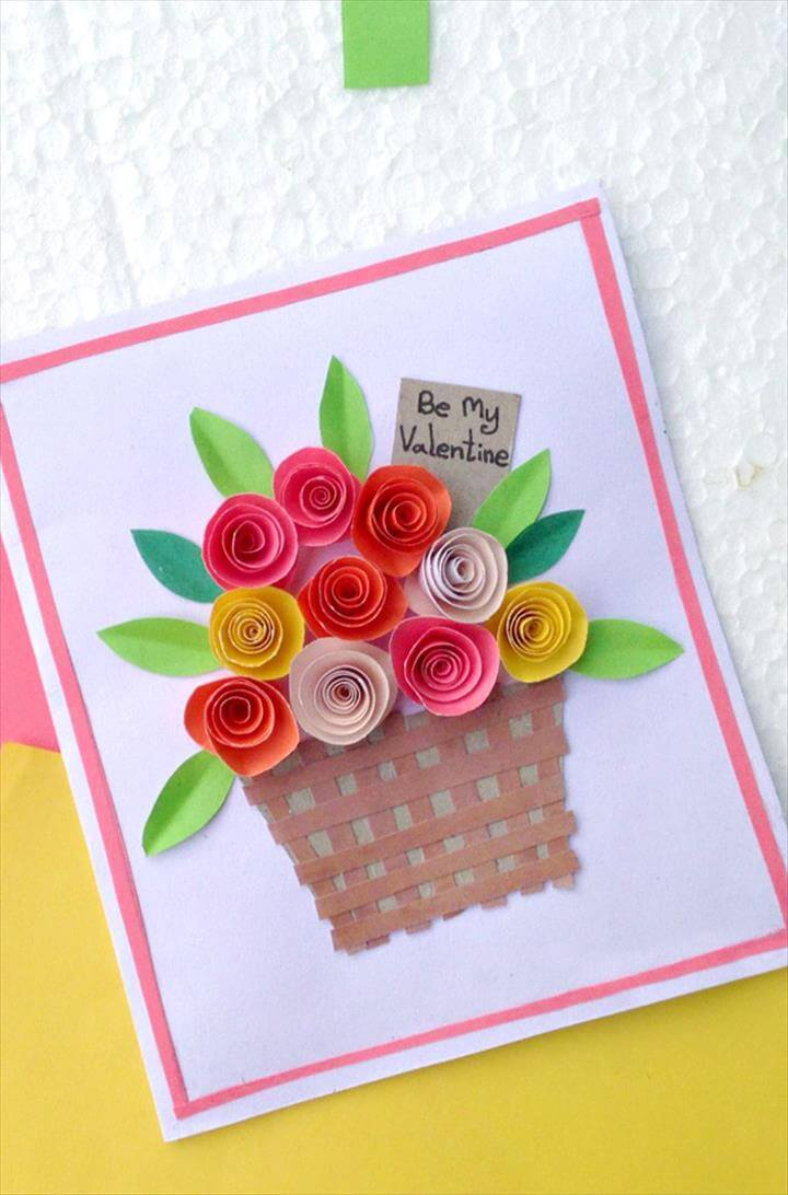 paper flower cards