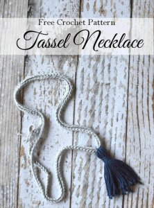 12 Crochet Necklace Tutorials – Simple To Make