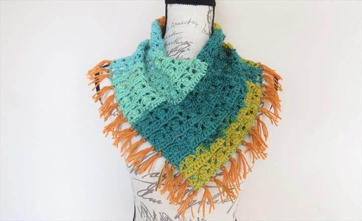 free crochet scarf pattern