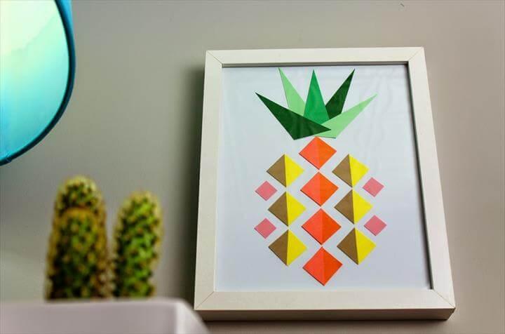 pineapple geometric pineapples