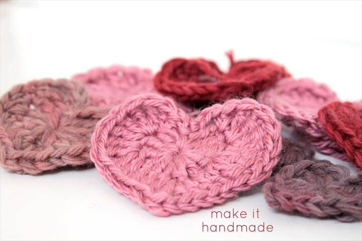 5 Ways Use Your Crochet Hearts