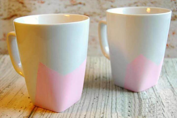 DIY Color Etched Mugs, handmade gift Courtesy Lindsey Galvez