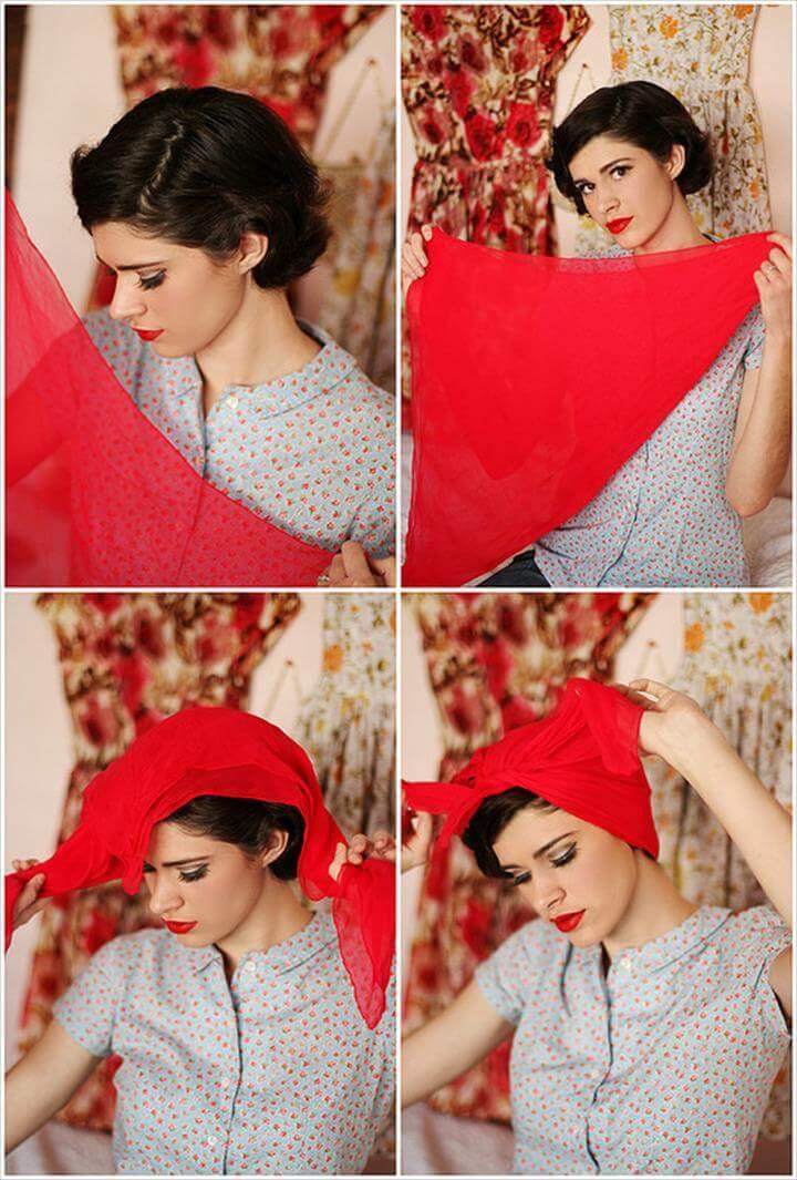 Classic Headscarf Tutorial