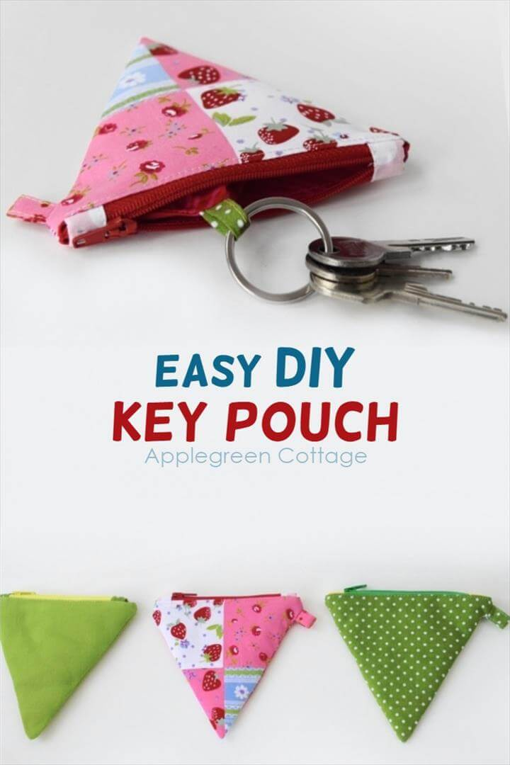 key pouch from a coin purse. How to turn any
