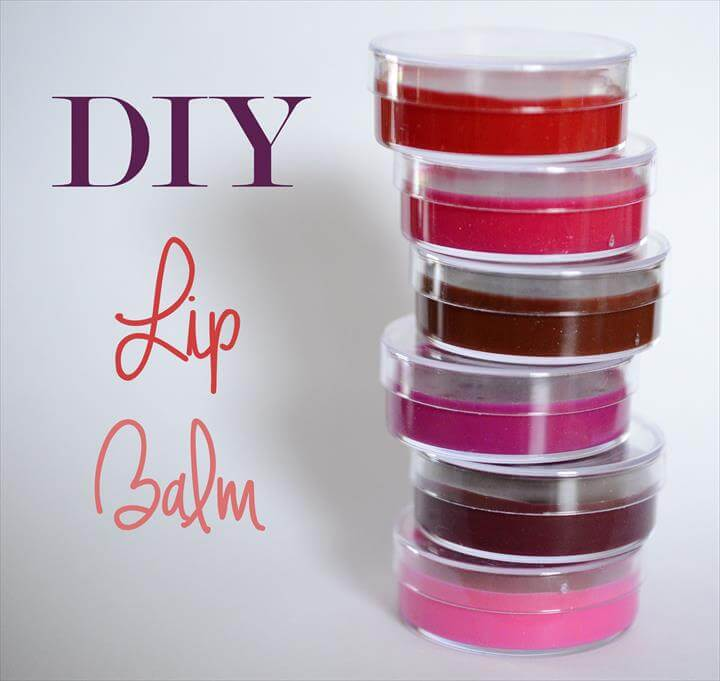 Main diy lip balm